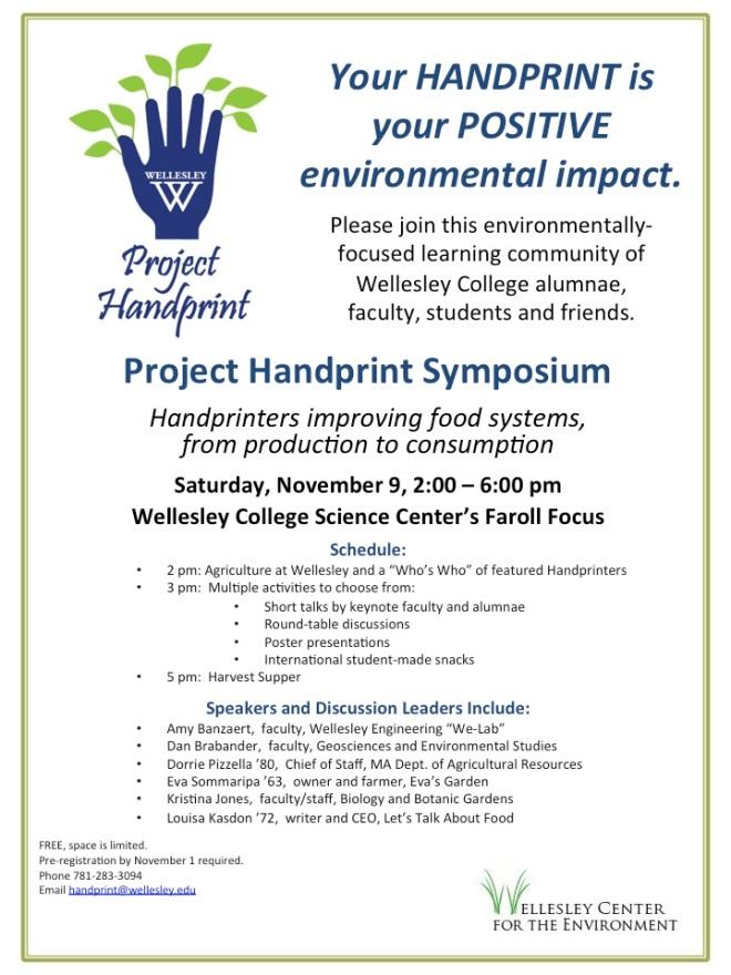 Project Handprint Invitation