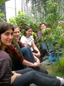 campus cultiv conf greenhouse meditation