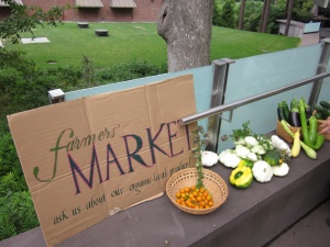 Regeneration's on-campus farmer's market